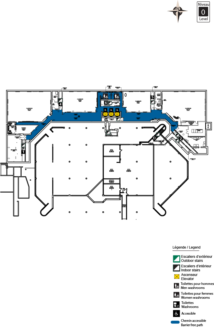 Accessible Map - CRX level 0