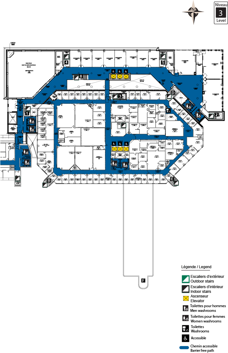 Accessible map - CRX level 3