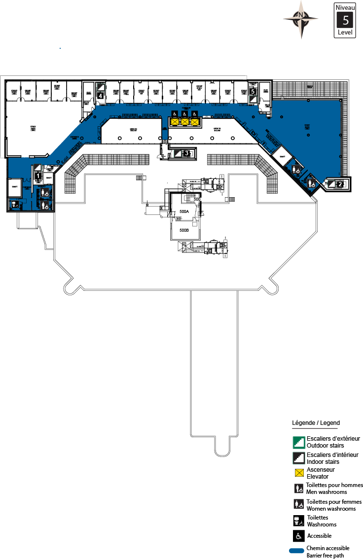 Accessible map - CRX level 5