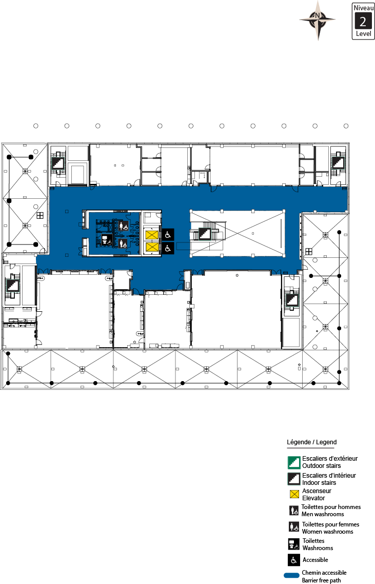 Accessible map - STEM level 2