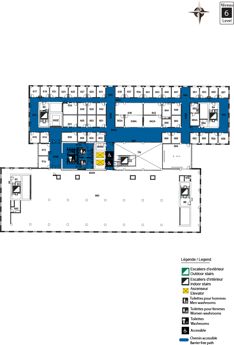 Accessible Map - STEM Level 6