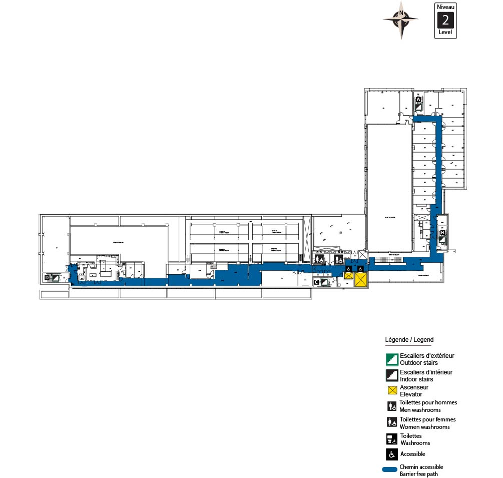 Accessible map - ARC Level 2