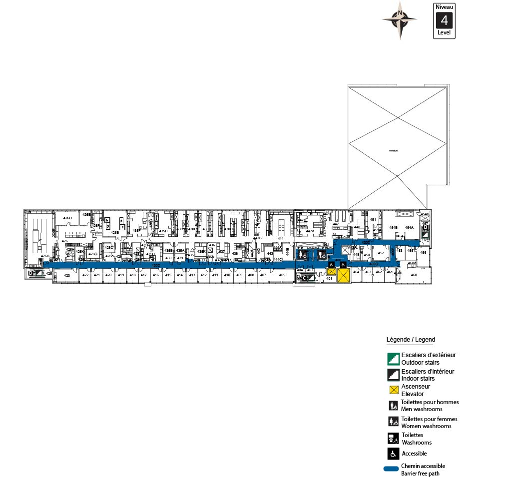 Accessible map - ARC Level 4