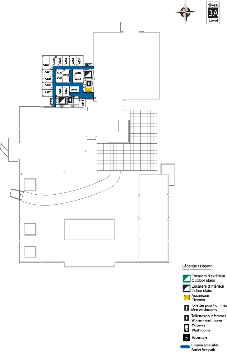 Accessible Map - CBY Level 3.5