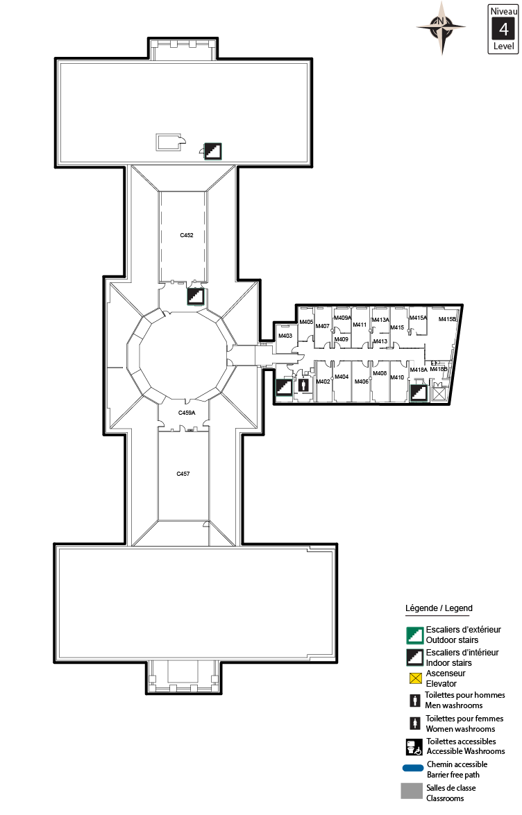 Accessible map - TBT Level 4