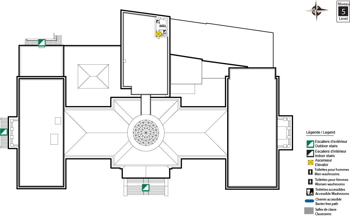 Accessible map - TBT Level 5
